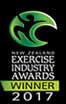 New Zealand Exercise Industry Awards Winner 2017