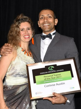 Award Personal Trainer of the Year 2017